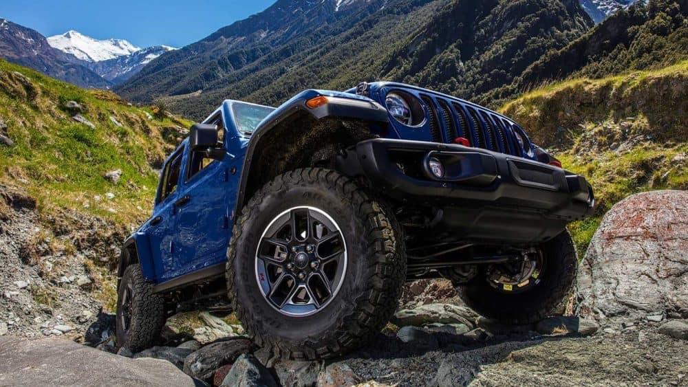 Blue 2019 Jeep Wrangler