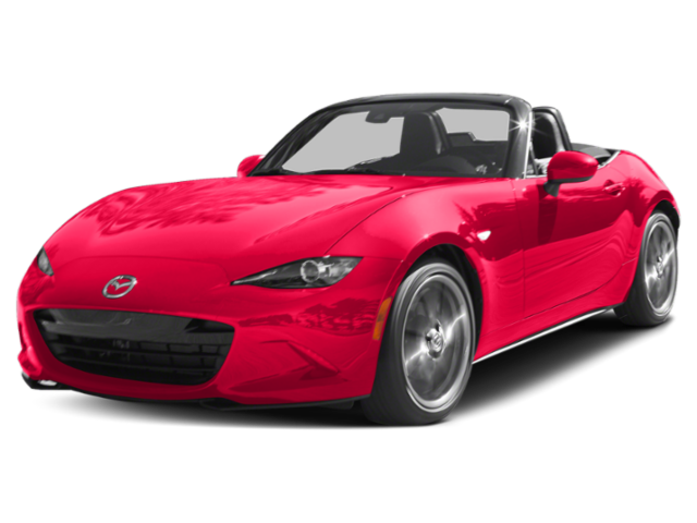 Red 2019 Mazda MX-5 Miata