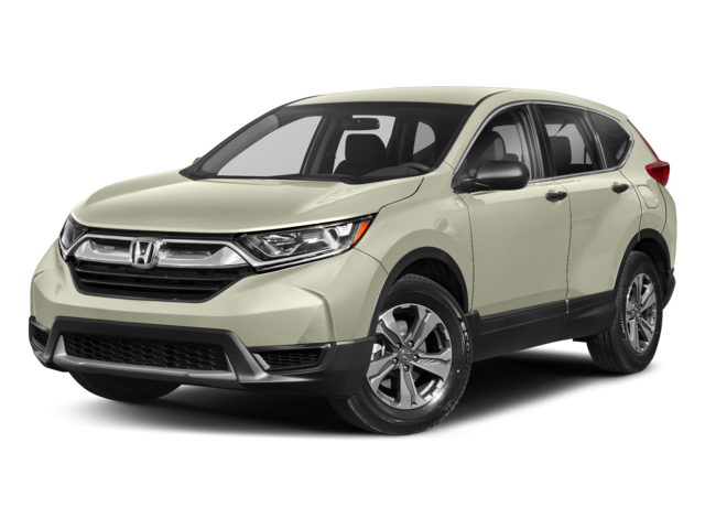 White 2018 Honda CR-V