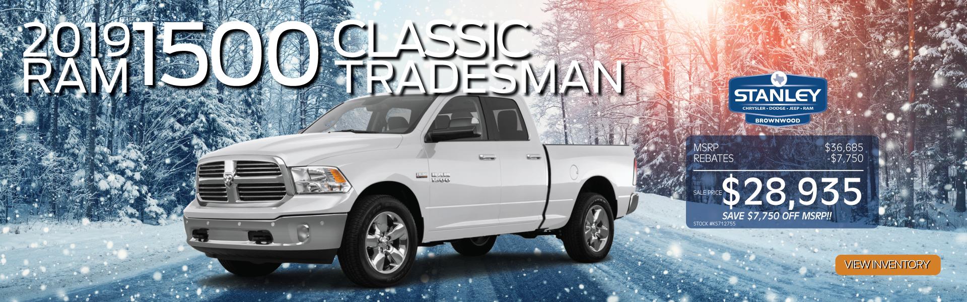 Ram 1500 Classic Tradesman