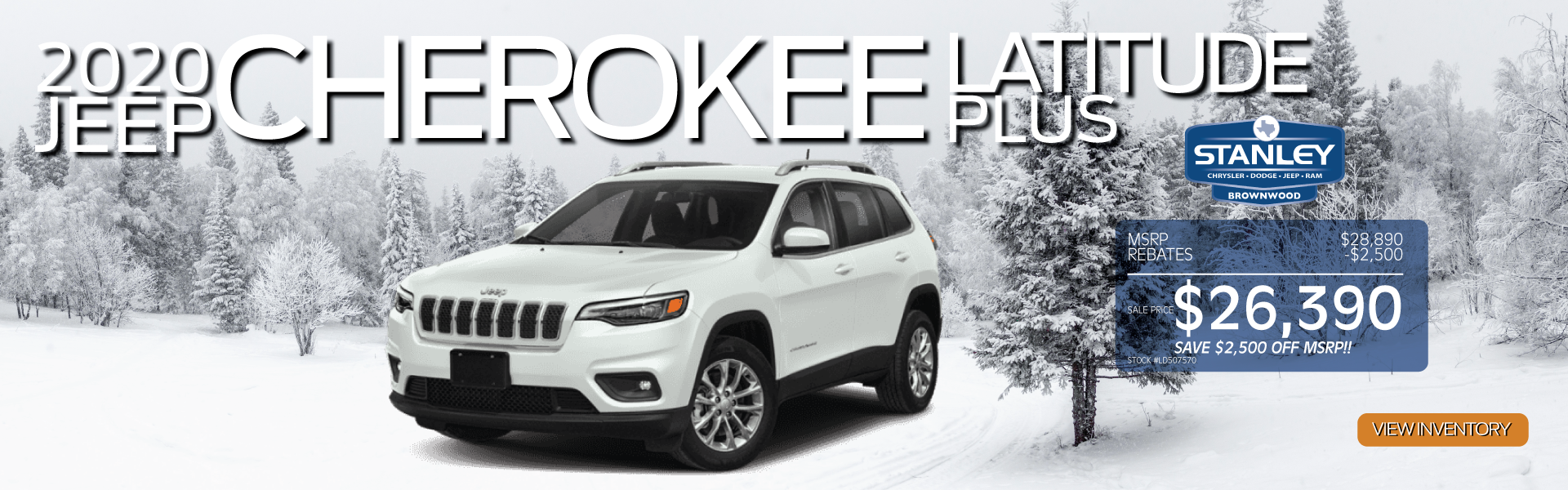 2020 Cherokee Latitude Plus
