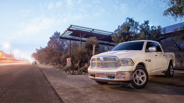 2018 Ram 1500 white exterior