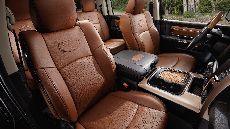2018 Ram 1500 interior seating
