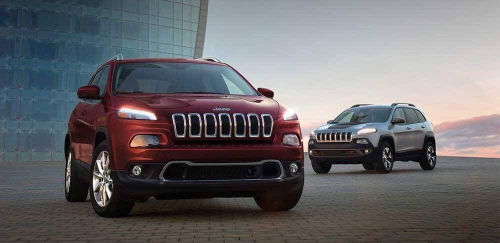2018 Jeep Cherokee front fascia