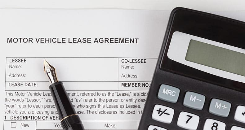 what is leasing a vehicle