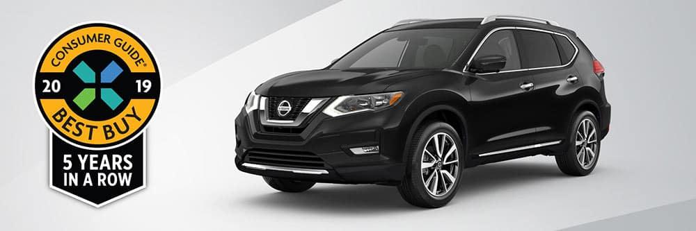 2019 Nissan Rogue Awards