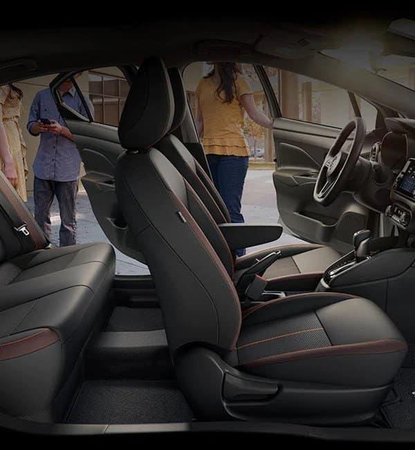 Nissan Versa Customizable Connectivity