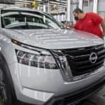 All-new 2022 Nissan Pathfinder rolls off assembly line