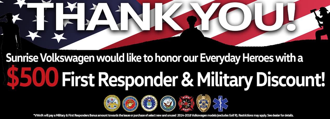 first responder homepage banner