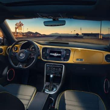2018 Volkswagen Beetle cabin