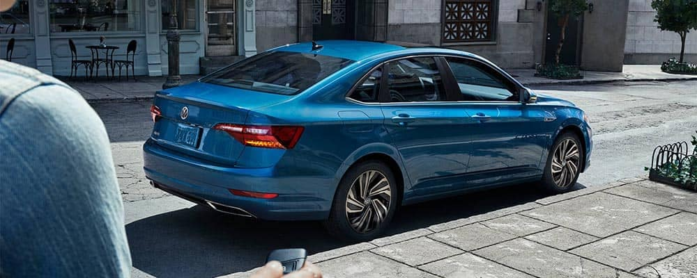 2019 Volkswagen Jetta Parked on Side of Street