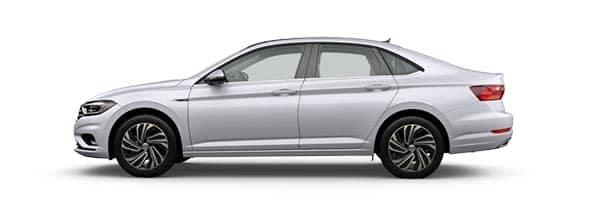 2019 Volkswagen Jetta White Silver Metallic