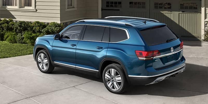 2018 Volkswagen Atlas Parked in Driveway