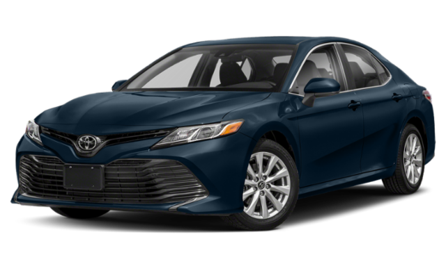 Navy Blue Toyota Camry