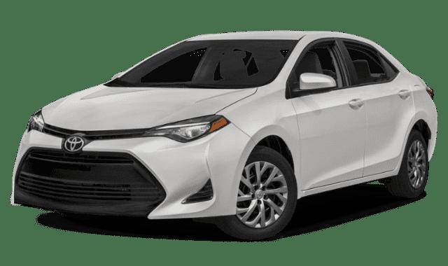 White 2019 Toyota Corolla
