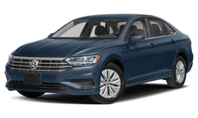 Navy Blue Volkswagen Jetta