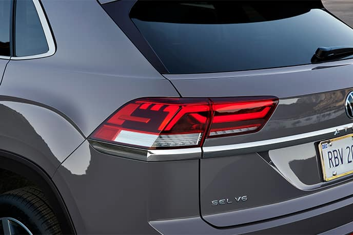 taillight view