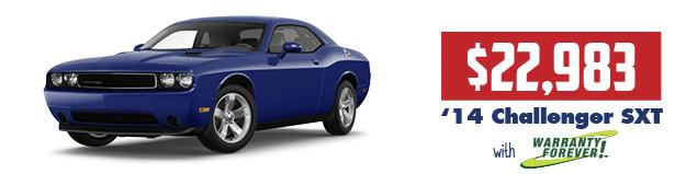 2014 Challenger SXT