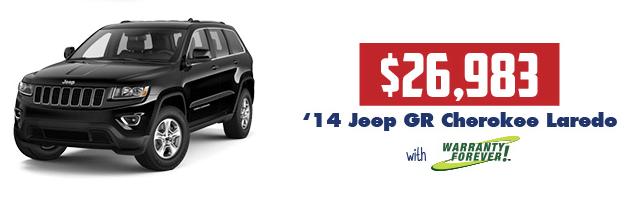 2014 Jeep GR Cherokee Laredo
