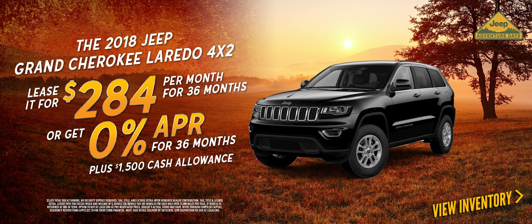 lease-2018-jeep-grand-cherokee-laredo-for-284-per-month