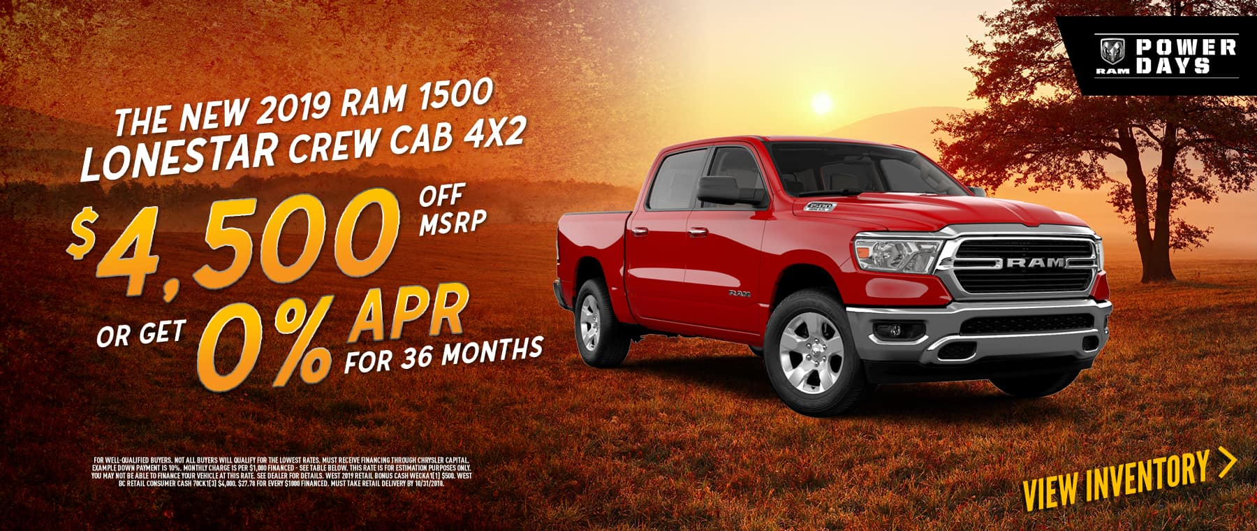 2019-ram-lonestar-crew-cab-4by2-zero-percent-apr