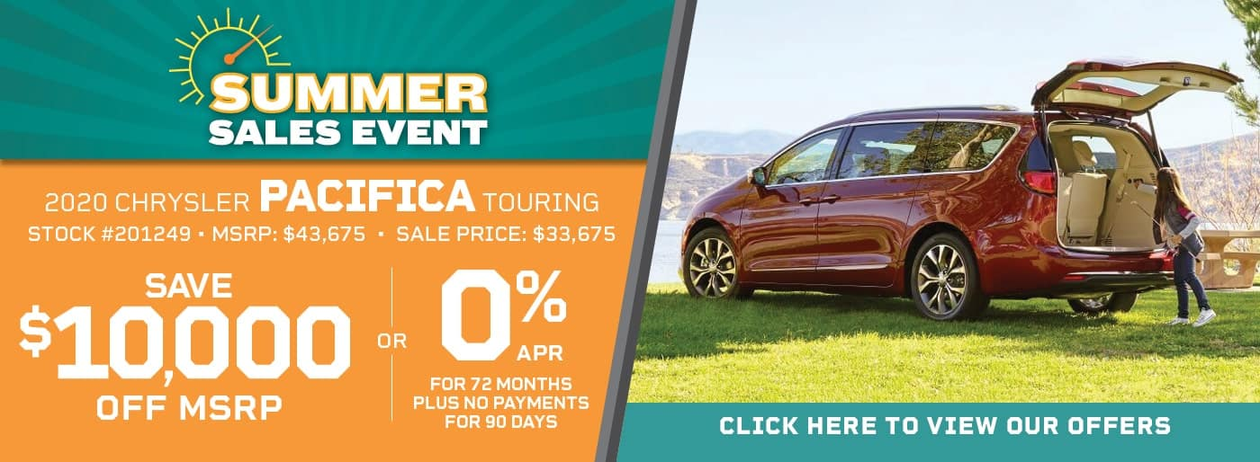 PACIFICA 0% APR FOR 72/MO