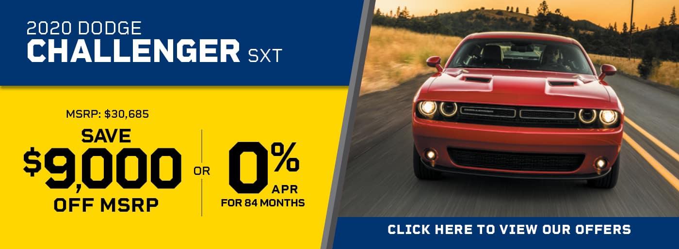 Challenger 0% APR