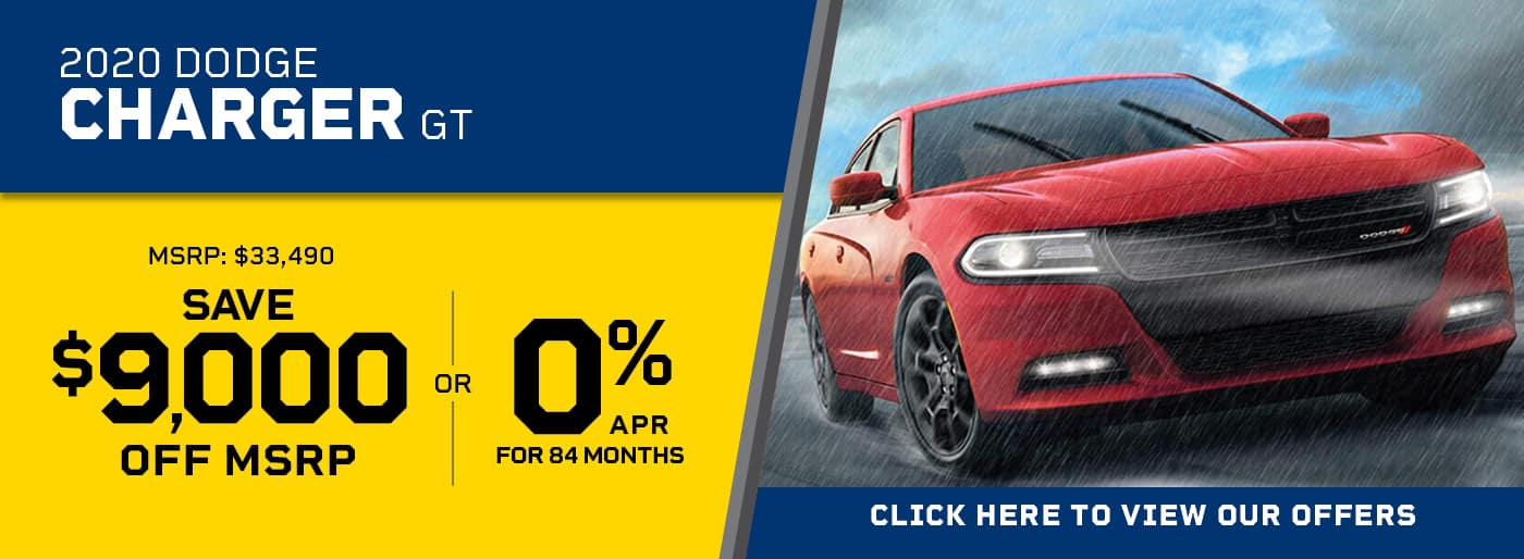 Charger 0% APR