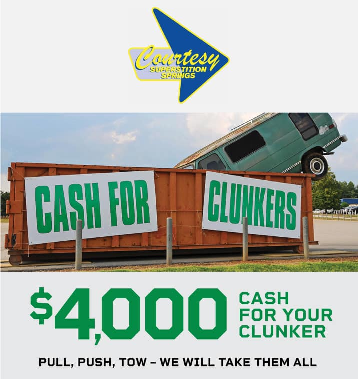 Cash For Clunkers >> Cash For Clunkers Courtesy Cdjr Of Superstition Springs