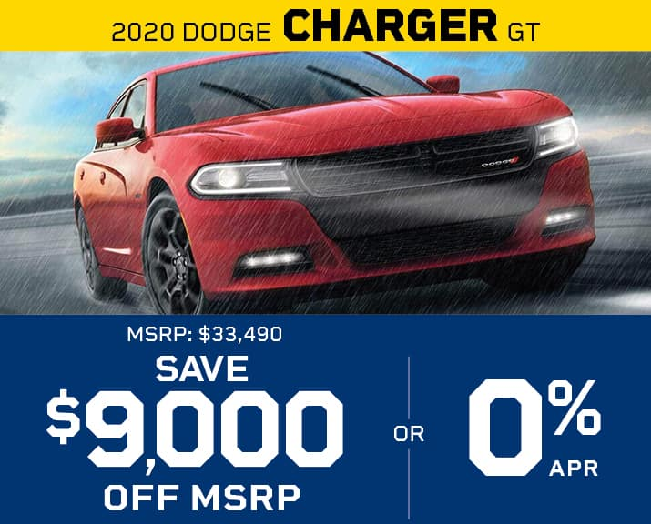 Charger, 0% APR