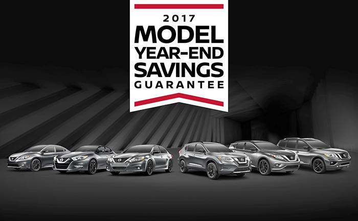 Model Year End Savings Guarantee