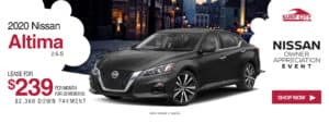 2020 Nissan Altima Lease Special