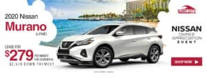 2020 Nissan Murano Lease Special