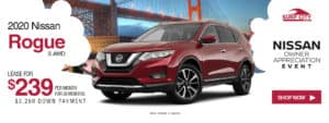 2020 Nissan Rogue Lease Special in orange county