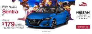 2020 Nissan Sentra Lease Special In Huntington Beach, Orange County