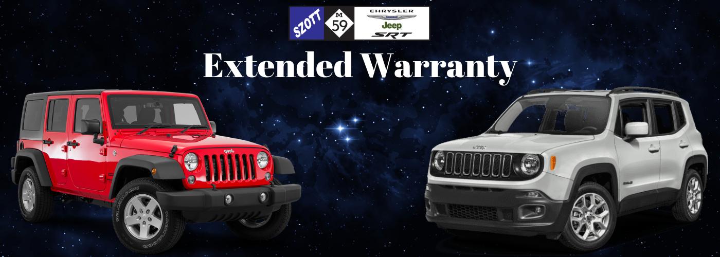 Szott M-59 Chrysler Jeep Extended Warranty