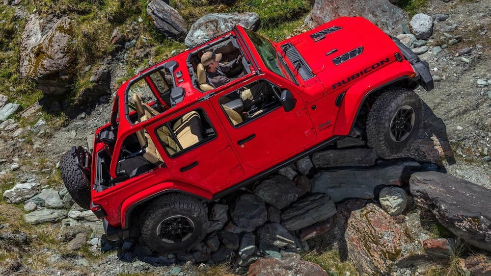 2019 Jeep Wrangler Unlimited Off-Road