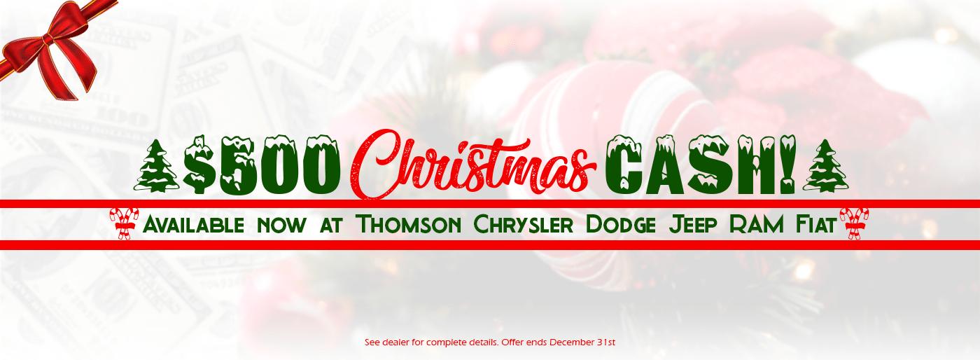 Christmas Cash Banner