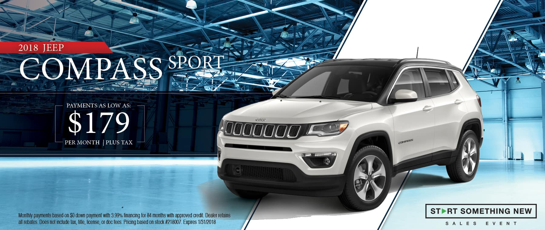 2018 Jeep Compass Sport Special in Thomson, GA