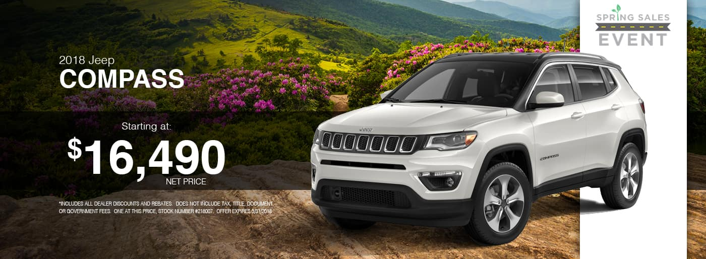 2018 Jeep Compass Special at Thomson Jeep in Thomson, GA