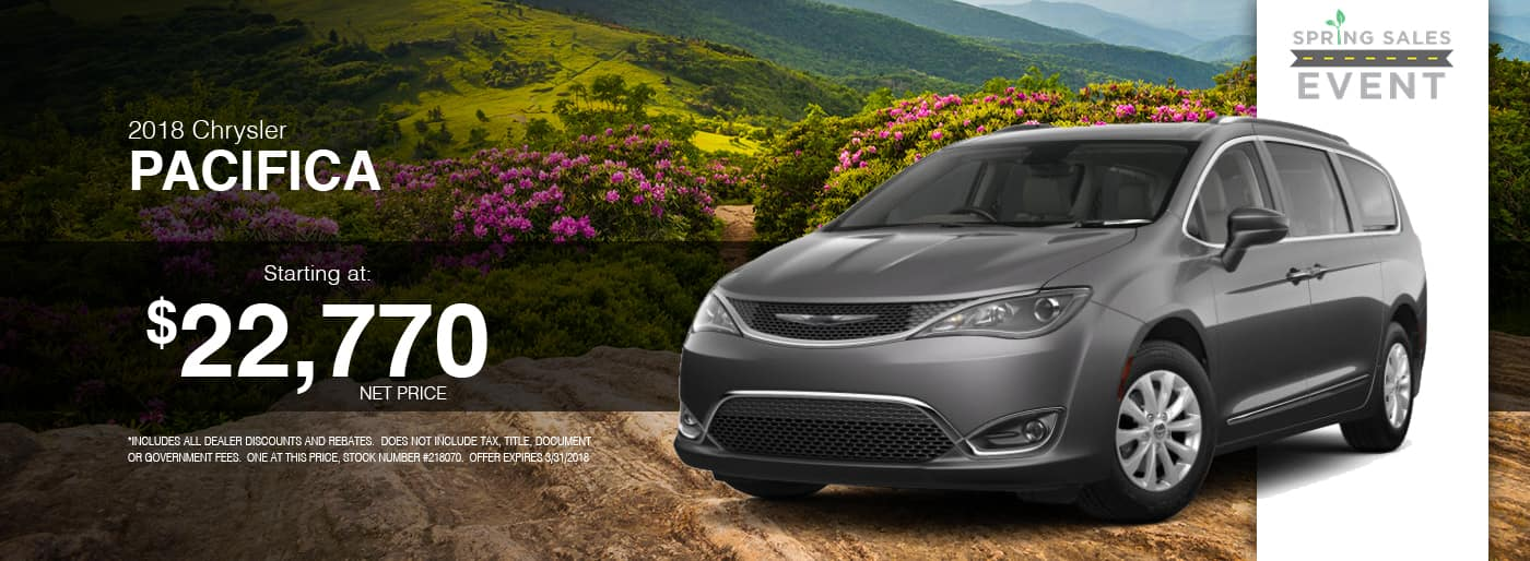 2018 Chrysler Pacifica Special at Thomson Chrysler in Thomson, GA