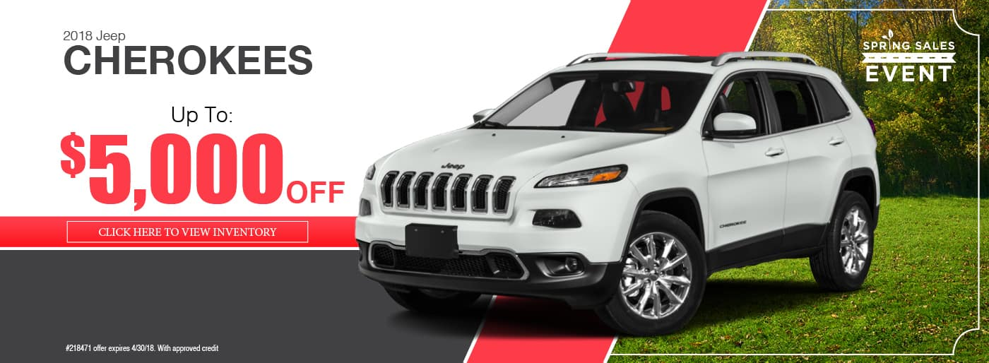 2018 Jeep Cherokee Special available at Thomson Jeep in Thomson, GA