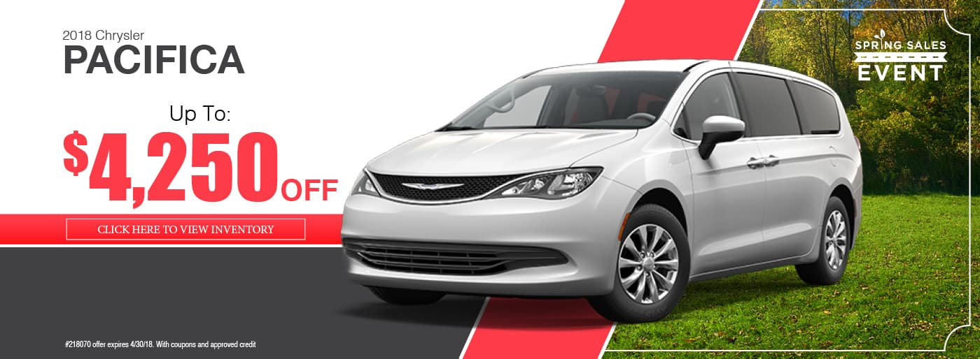 2018 Chrysler Pacifica Special available at Thomson Chrysler in Thomson, GA