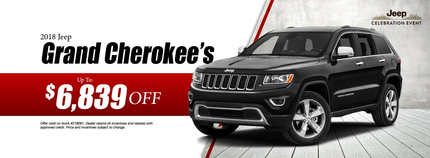 2018 Jeep Grand Cherokee Special at Thomson Jeep in Thomson, GA