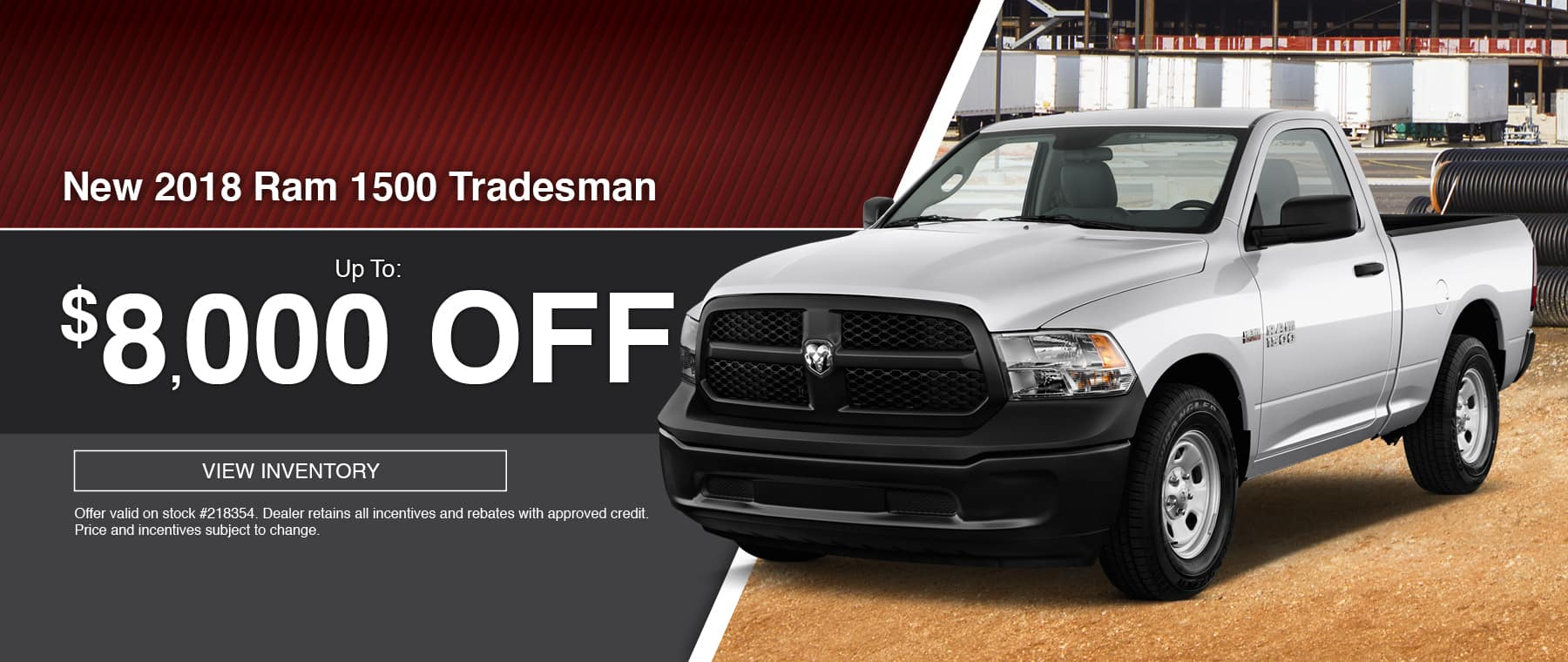 2018 RAM 1500 Tradesman Special at Thomson RAM in Thomson, GA