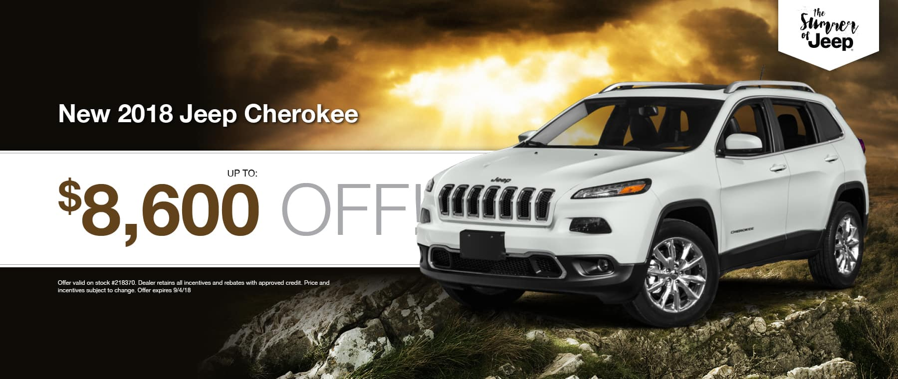 2018 Jeep Cherokee Special at Thomson Jeep in Thomson, GA