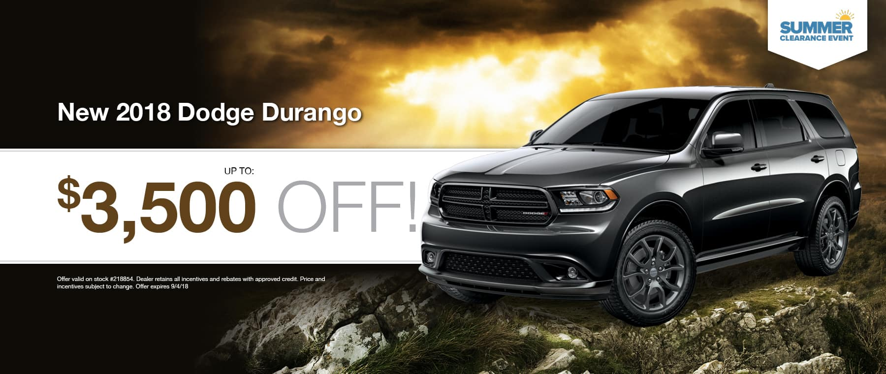 2018 Dodge Durango Special at Thomson Dodge in Thomson, GA