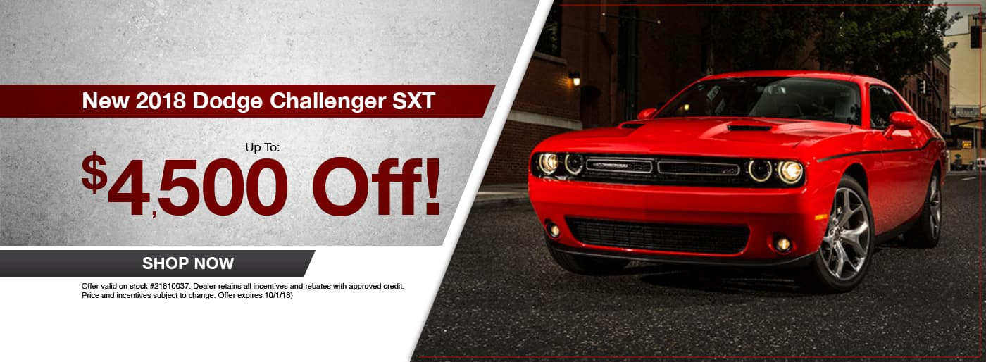 2018 Dodge Challenger SXT Special at Thomson Dodge in Thomson, GA