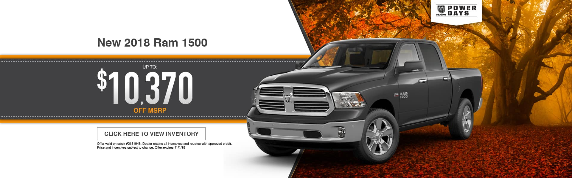 New 2018 RAM 1500 Special at Thomson RAM in Thomson, GA