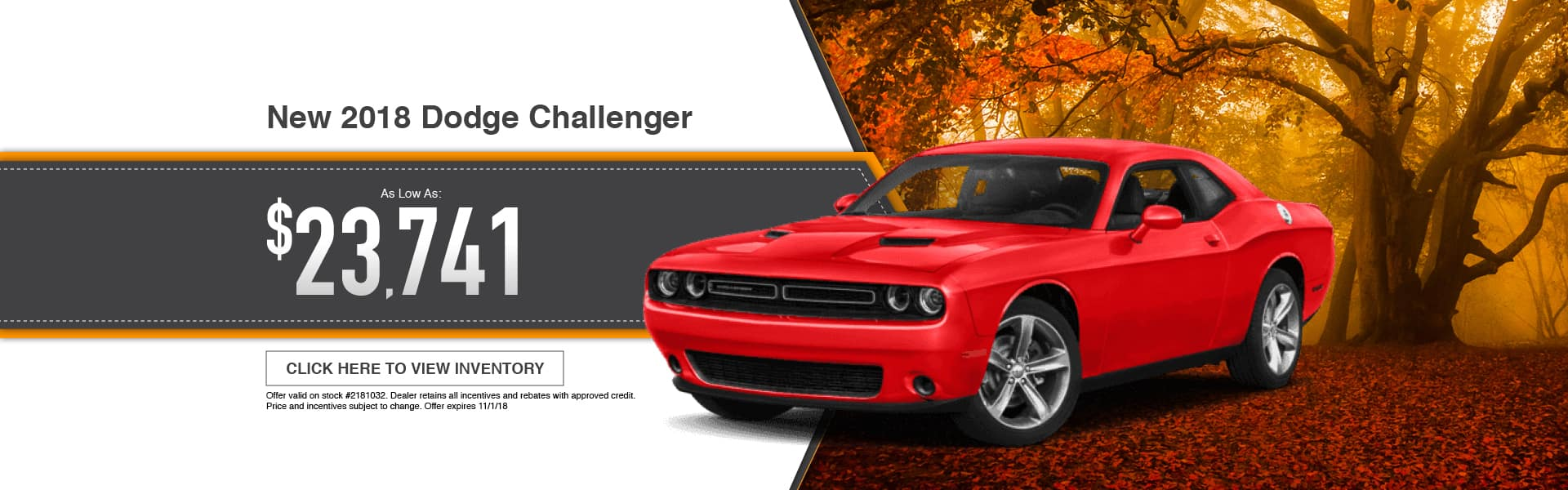 2018 Dodge Challenger Special at Thomson Dodge in Thomson, GA